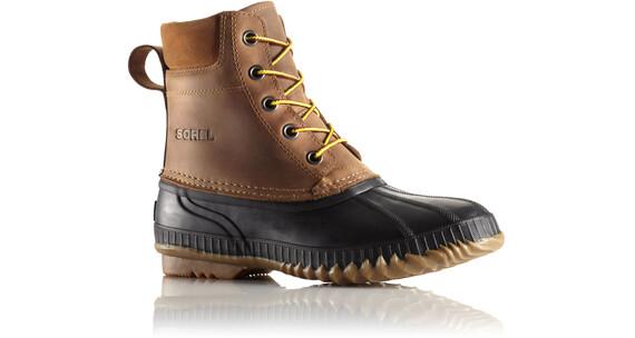 Sorel Cheyanne M's Lace Full Grain Shoes Chipmunk, Black